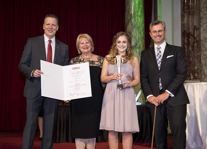 BESTER LEHRLING 2018 - Michaela DUZIC - Kühne+Nagel GmbH