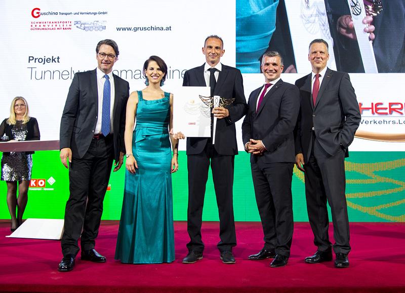 BESTES KMU 2019 - Gruschina Transport- und Vermietungs GmbH